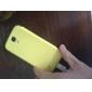 For Samsung Galaxy etui Med vindue Auto Sluk Flip Etui Heldækkende Etui Helfarve Kunstlæder for Samsung S4