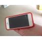 Nouveauté Conçu Transparent Motif de chat caisse molle iPhone 5 (couleurs facultatives)