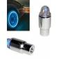 upertark blinkande blå LED-belyning till däck (2-pack)