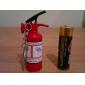 Зажигалка с брелок, в форме огнетушителя