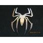 HL-6033 car kromi tunnus rintanappi tarra - hämähäkki