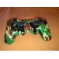 Camouflage Dual-Shock Bluetooth V4.0 Wireless Controller for PS3