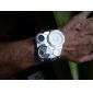 Reloj Pulsera Quartz Análogo de Cuero PU Unisex (Colores Surtidos)