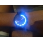 Touch Screen Creative Blue and White LED Flashing Wristband Watch