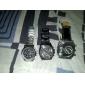 Masculino Relógio de Pulso Quartzo Lega Banda Preta Preto titânio Swiss Preto Fosco