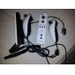 Dual-Color MotionPlus Remote and Nunchuk Controller for Wii/Wii U (Black and White)