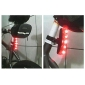 Salient Bicycle Safety Rear 5-LED Light FY-20118 (Red)