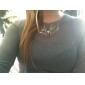 Lureme®Christmas Deer Chunky Necklace