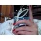 Coque pour iPhone 4/4S, Motif Aile d'Ange en Strass
