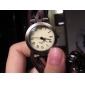 Reloj de Muñeca para Mujer Analógico de Cuarzo con Correa de Cuero