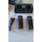 Dual Charging Station + Batteries for Wii (Assorted Colors)