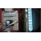 4W 8-LED White Light Car Daytime Driving Lamp (2-Pack)