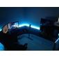 Striscia LED impermeabile, per esterni, con telecomando 24 pulsanti (lunghezza: 5 m)