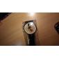 Women's Cartoon Cat Pattern Black PU Band Quartz Analog Wrist Watch