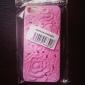 Для Кейс для iPhone 5 Защита от удара / Рельефный Кейс для Задняя крышка Кейс для Цветы Твердый PC iPhone SE/5s/5
