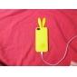 iphone 5/5sのためのウサギのデザインソフトケース(アソートカラー)