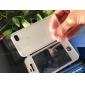 폴더 형 아이폰 4/4S (분류 된 색깔)를위한 투명한 전면 커버 TPU 연약한 몸 전체 케이스를 디자인