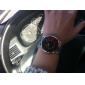 Stile abbigliamento unisex in acciaio digitale a LED orologio da polso (argento)