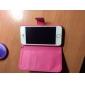 Pendentif coeur en cuir joyland cas de tout le corps pour iphone 5/5s