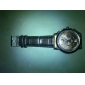 Vattentåligt Analogt Quartz-ur med PU-band  (Blandade färger)