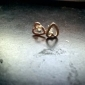 Earring Heart Stud Earrings Jewelry Women Party / Daily Alloy Gold / Silver