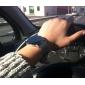 Robe unisexe style acier numérique montre-bracelet à LED (Argent)