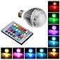 3W E26/E27 LED Globe Bulbs Integrate LED RGB Remote-Controlled AC 85-265 V