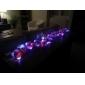 2m 30-conduit de lumière blanche 2-mode lampe led chaîne de fées pour Noël (3xAA)
