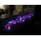 2m 30-ledede hvidt lys 2-mode LEDstring fairy lampe til jul (3xAA)