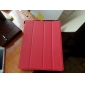 Microgroove Pattern PU Leather Case with Stand for iPad 4 & the new iPad & iPad 2 (Assorted Colors)