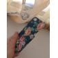 아이폰 5/5S를위한 절묘한 디자인 화려한 꽃 패턴 구호 하드 케이스