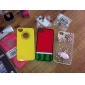 Watermelon Pattern Dull Polish Hard Case for iPhone 4 and 4S (Multi-Color)