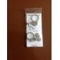 flèche et le cœur porte-clés en métal de style en couple (1 paire)