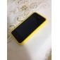 iPhone 4 ve 4S İçin Metal Düğmeler ile TPU Koruma Çerçeveli Kılıf