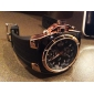 V6 Мужской Армейские часы Наручные часы Кварцевый Японский кварц Pезина Группа Черный
