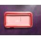아이폰 4/4S용 울트라 씬 솔리드 색상 투명 범퍼 버튼 프레임 (다양한 색상)