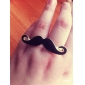 Z&X®  Little Evil Moustache Double Finger Ring