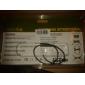 Ventilador Doble USB de Refrigeración de 2100 RPM para Laptops de 30cm a 43cm