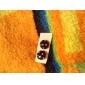 10 mm Les Etoiles Symbole Boucles d'oreilles en acier inoxydable