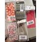 아이폰 7 7 플러스 기가 6 플러스 자체로 5 초에 대한 국화 패턴 투명 프레임 PC의 하드 케이스도 5c 5 4S 4