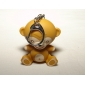 Monkey Keychain with LED Flashlight and Sound Effects
