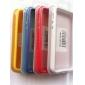 Moldura TPU com Design Simples para iPhone 5/5S