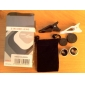Detachable Clip-on 180°Fish Eye Lens and Wide Angle with 0.67X Macro Lens for iPhone / iPad