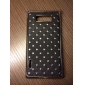 Starry Sky Pattern Hard Case with Rhinestone for LG L7