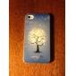 cas dur de modèle de fleur de neige pour l'iPhone 4/4S