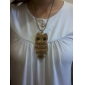 Owl Shape Antique Bronze Necklace/ Long Sweater Chain