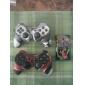 Casing Silikon Pelindung Dua Warna untuk Controller PS3 (Merah dan Hitam)