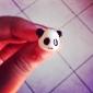 3,5 Cute Panda Head Anti-poussière Branchez