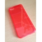 아이폰 5/5S (분류 된 색깔)를위한 투명한 TPU 소프트 케이스