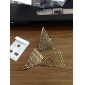 Anillo de la abertura Retro Pirámide